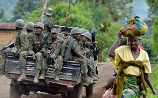 Troops in the DRC smaller