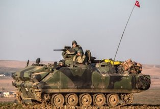 Turkish troops advance smaller