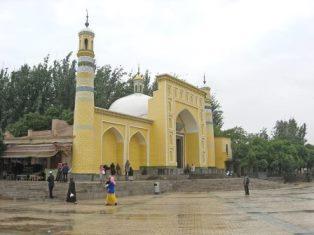 Xinjiang mosque in China smaller