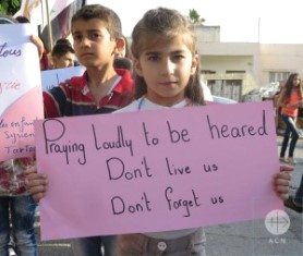 Young Syrian girl has message for the West