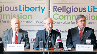 pic 2 caption Paul Robinson Chief Executive of the Release International right