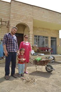 Christian family home rebuilt in Nineveh smaller