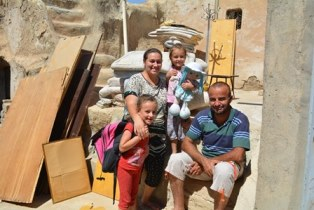 Christian family returns to Nineveh smaller