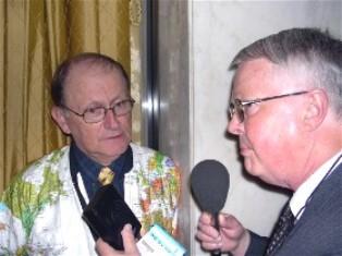 Dan Wooding interviews George Verwer smaller