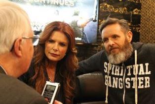 Dan inteviewing Roma Downey and Mark Burnett at NRB