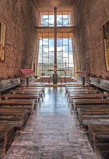Interior Chapel of the Holy Cross smaller