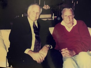 Loren and Billy Graham 2 smaller