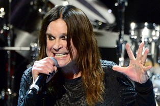 Ozzy Osbourne performing smaller