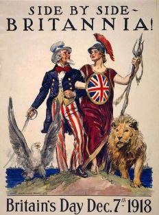 men and women celebrate British women getting the vote