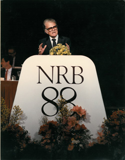 mi Billy Graham addresses the NRB Convention in 1988. 02 22 2018