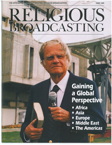 mi Billy Graham on the cover of the NRB Broadcasting magazine.02 22 2018
