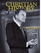mi Billy Graham on the cover of Christian History magazine