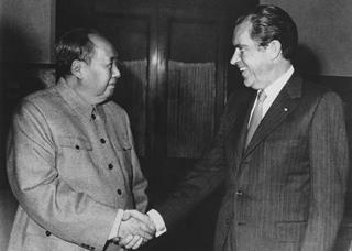 mi Mao Tse Tung the Chinese Communist Party leader and US President Richard Nixon meet in Beijing in 1972.02.03.2018