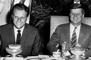 Billy Graham with JFK smaller use