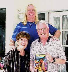 Dan and Norma with Rick Wakeman book smaller