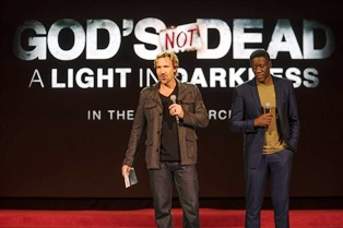 David A.R. White from Gods Not Dead. White from Gods Not Dead