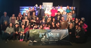 Ice Dragon team with Stace smaller
