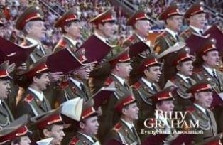 Red Army choir in Moscow smaller
