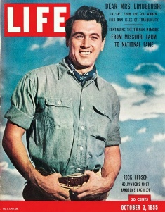 Rock Hudson on the cove of LIFE smaller