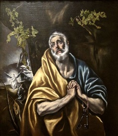The Penitent Saint by El Greco