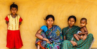women girls villageindia resting smaller