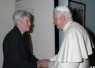 Max Cole with Pope Benedict smaller
