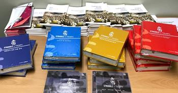 mi Bibles provided by Biblicaon display in South Korea at the Winter Olympics 04 12 2018