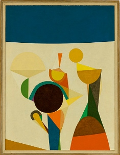 Growing game 1 1958 oil on canvas 42 78 x 33. smaller