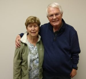 Dan Wooding and Norma
