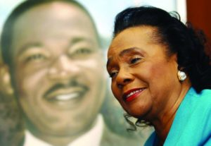 Coretta Scott King with Martin Luther King