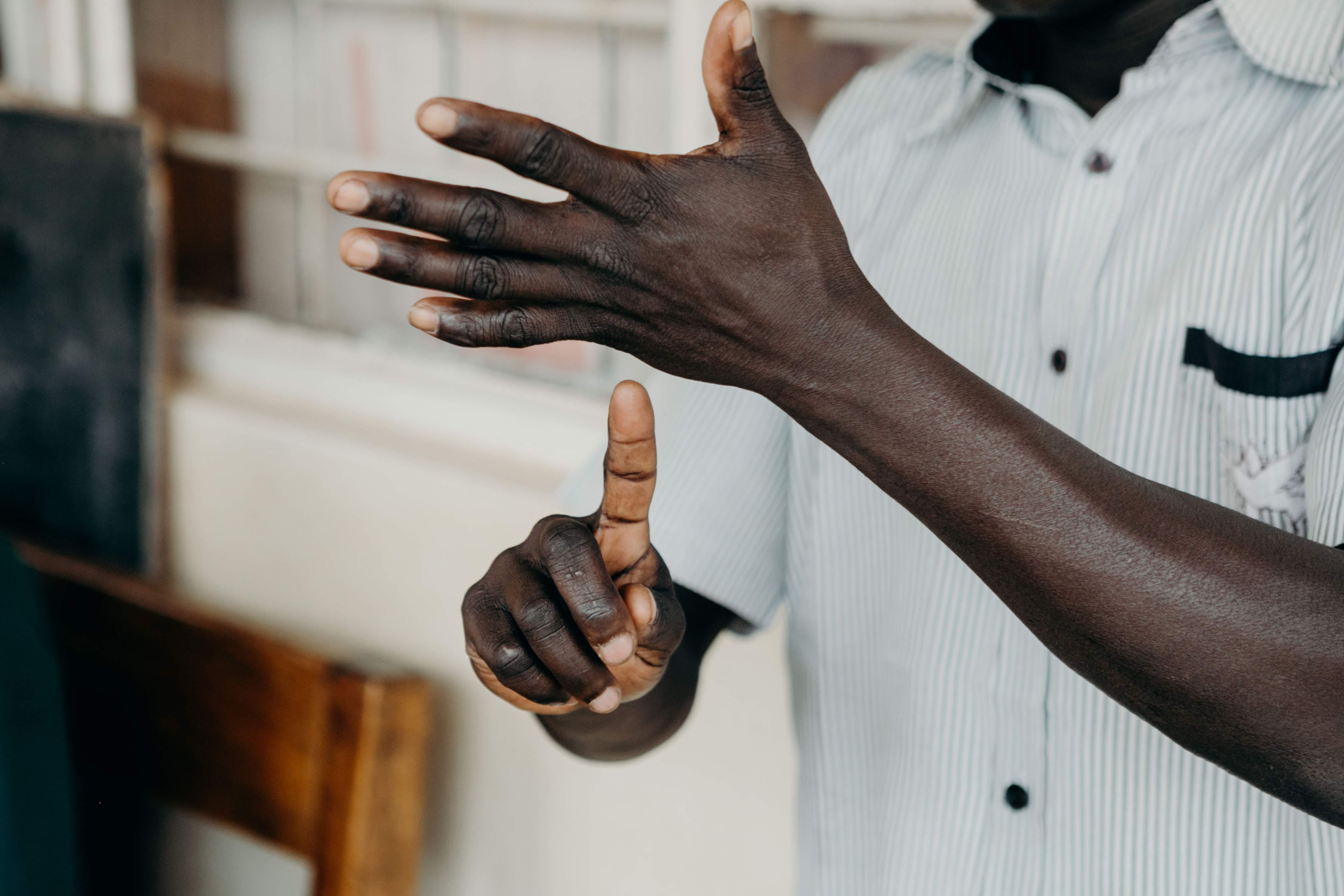 Deaf Bible Society fueling sign language Bible Translations
