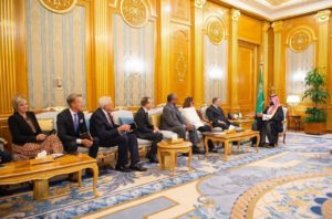 Delegation of evangelical leaders to Saudi Arabia