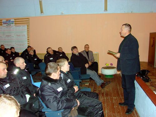 Chaplain in Russian Prison