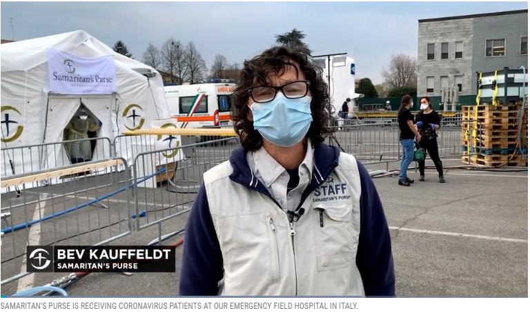 Samaritan's Purse Opens Field Hospital in Italy