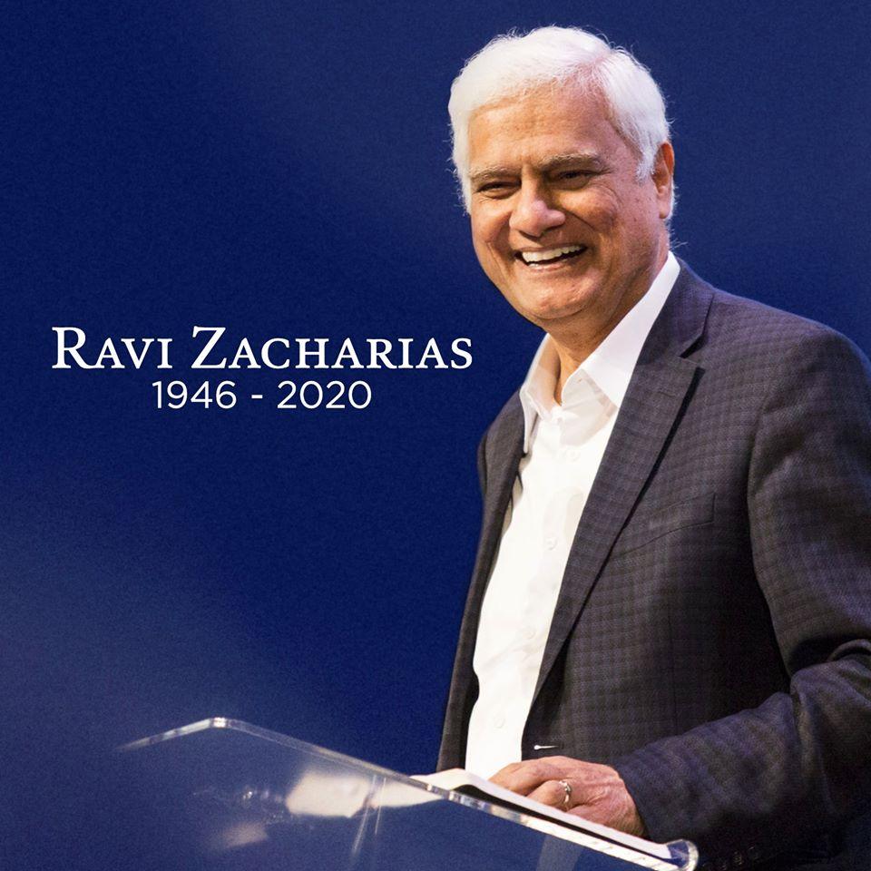 Ravi Zacharias is 'Now With Jesus'