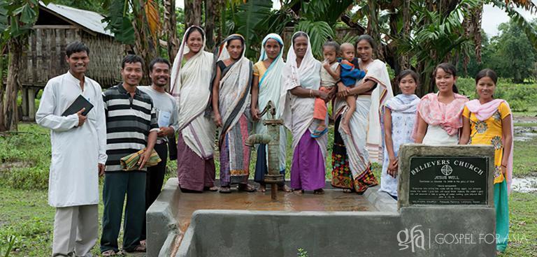 Gospel for Asia Pastor Brings Jesus Well to Poor Village