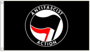 beat up by ANTIFA