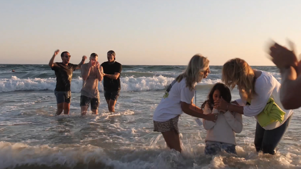 Salvations, Baptisms, and Healings Take Place at California Beach