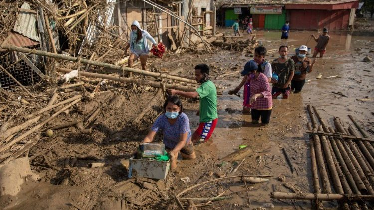 Typhoon Vamco Leaves Villages Covered in Flood of Mud, CIS Missions Sending Emergency Aid