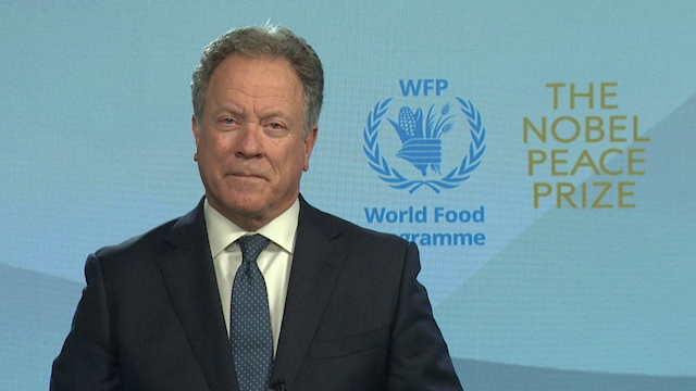 World Food Programme's David Beasley Quotes Command of Jesus to 'Love Your Neighbour' During Nobel Peace Prize Acceptance Speech