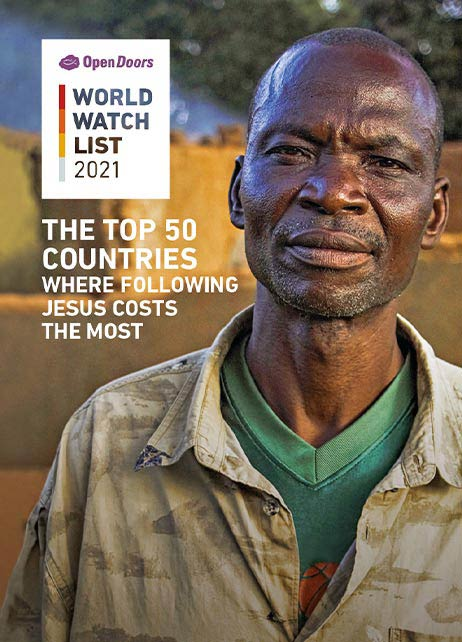 World Watch List 2021 Reports Persecution of Christians exacerbated by a year of Covid-19 according to