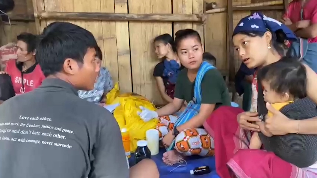 Free Burma Rangers Helping Thousands Displaced Following Burma's Military Coup