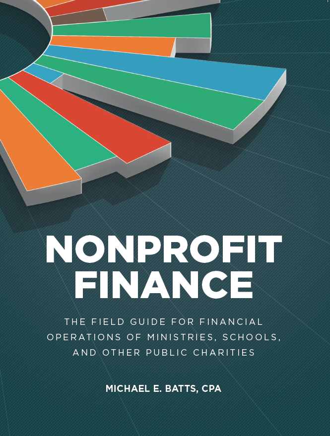 New book offers ministries practical help with finances