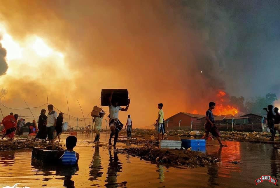 75,000 Refugees in Bangladesh Homeless As Fires Devastate Camps