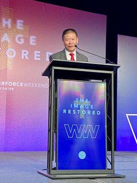 ChinaAid Founder Pastor Bob Fu Receives William Wilberforce Award