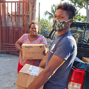 East Caribbean Islanders Grateful for Continued Aid from Food For The Poor following the volcanic eruptions