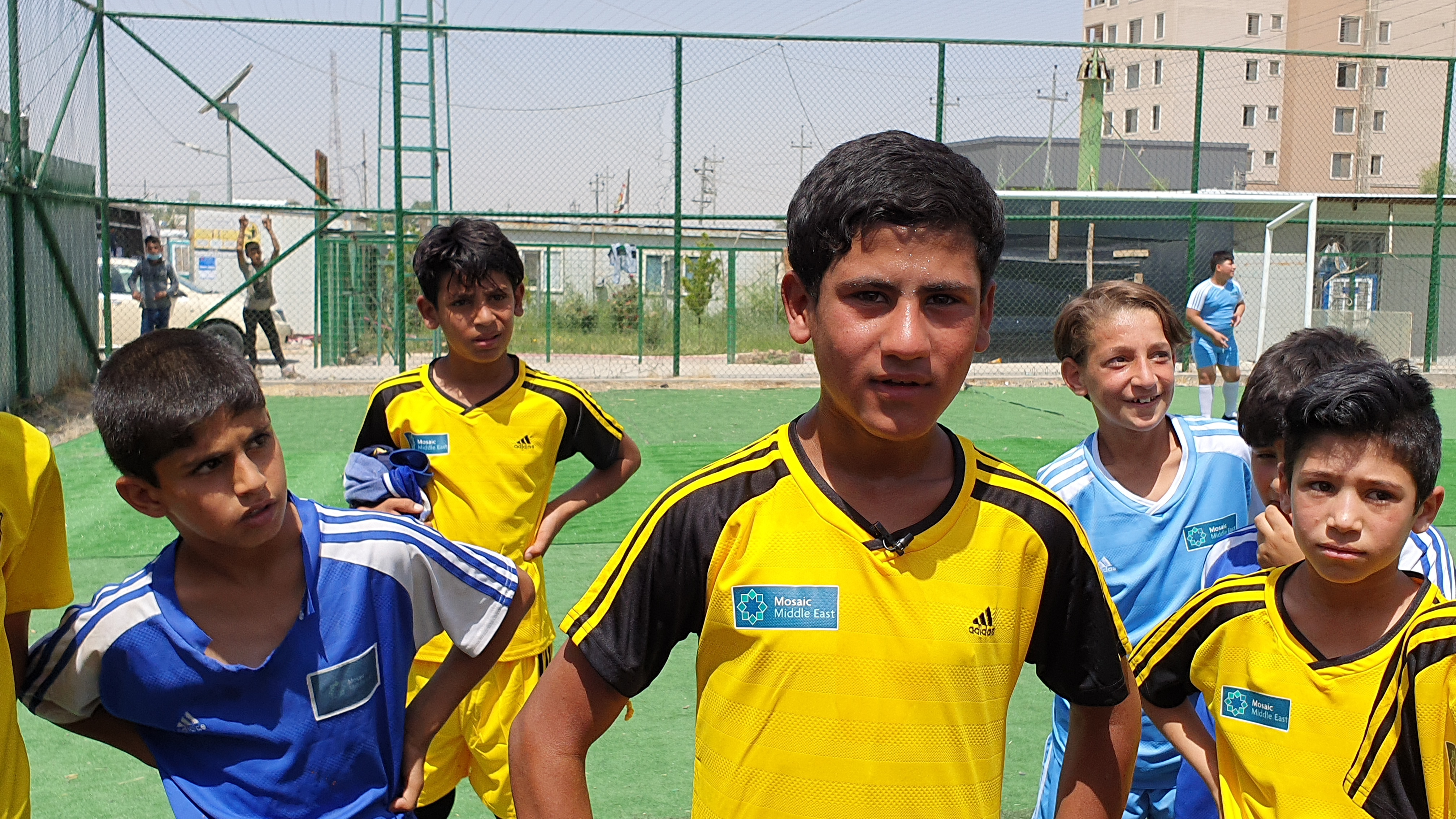 Soccer Fever in Iraq Helps Fight ISIS Recruitment
