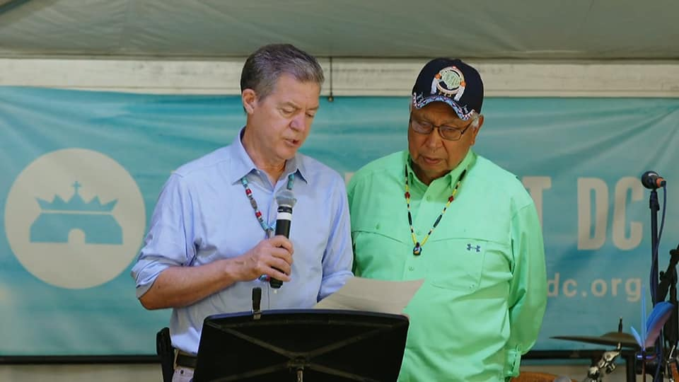 Former Senator, Govornor Sam Brownback Urges Formal Apology to Native Americans, Reconciliation